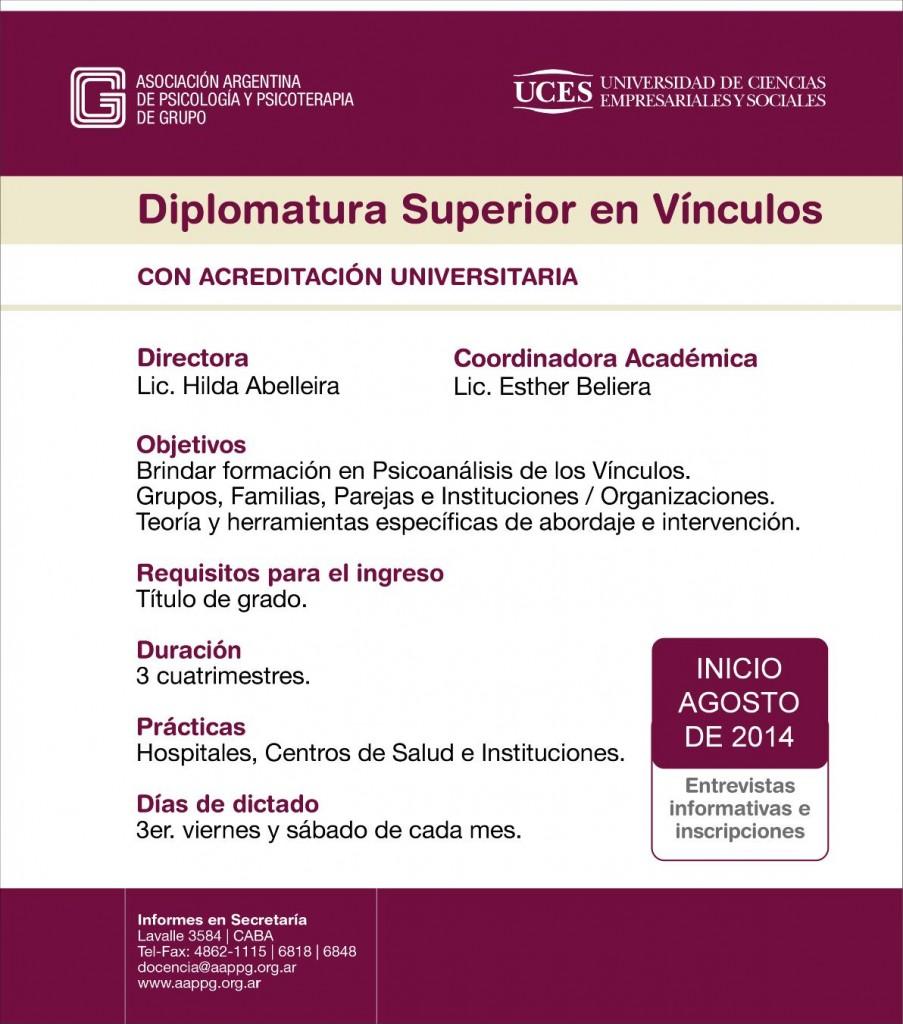 Aviso Diplomatura 2014