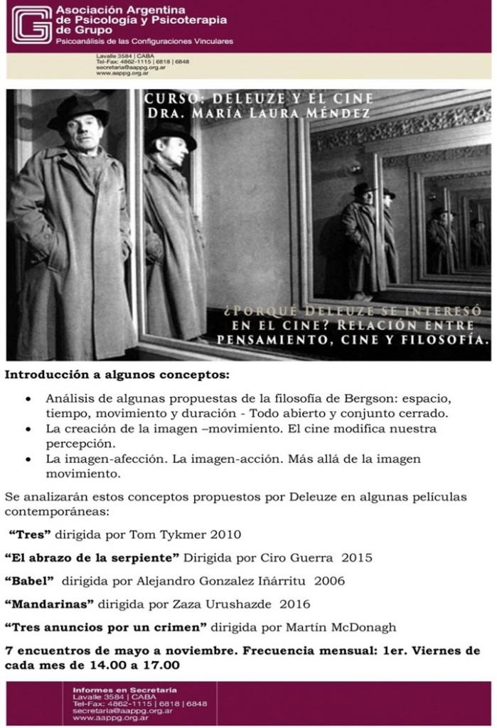 CURSO Deleuze y el cine[11]