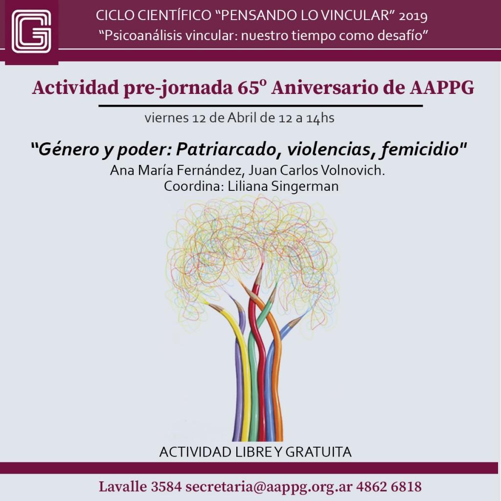 PENSANDO LO VINCULAR JORNADA 12