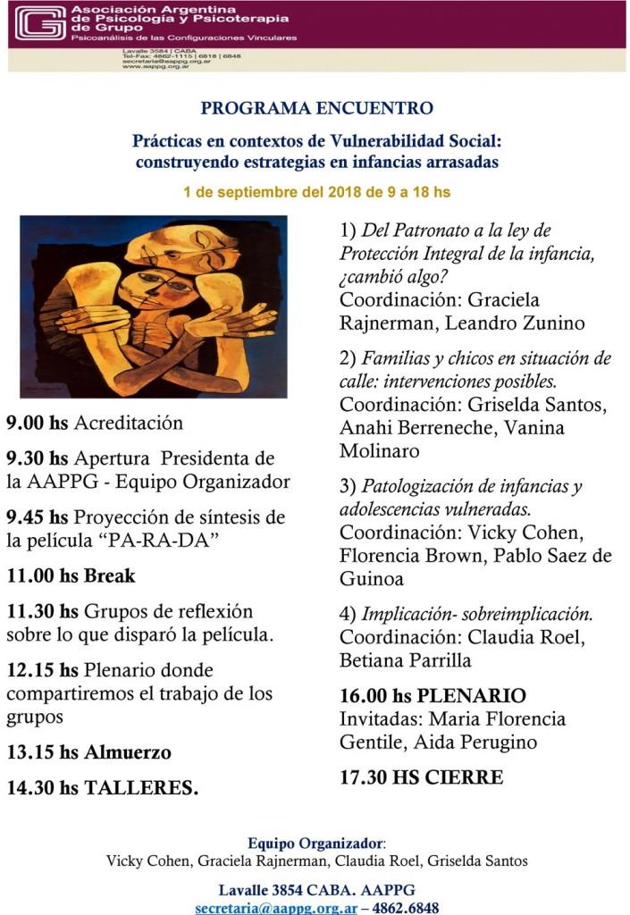 programa Jornadas Infancias y Adolescencias Vulneradas _003_
